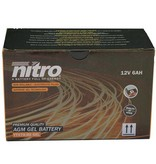 Nitro Yamaha XC 125 Flame X Motorscooter accu gel van nitro