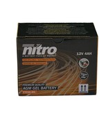 Nitro Italjet Reporter 50 2T accu van nitro