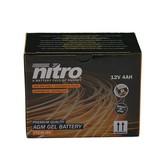 Nitro Gilera RCR 50 2T accu van nitro