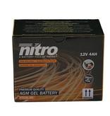 Nitro Aprilia Scarabeo 100 2T accu van nitro