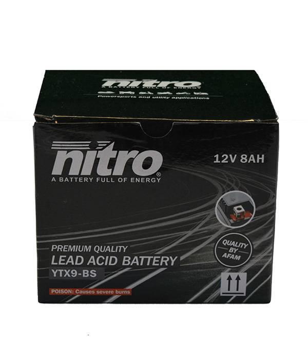 Nitro Kawasaki Z 750S Motor accu van nitro
