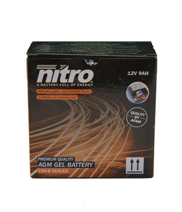 Nitro Aprilia SR 125 Motard Motorscooter Accu van nitro