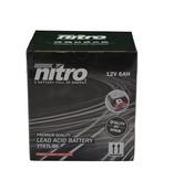 Nitro Yamaha YBR 125 Motor accu van nitro