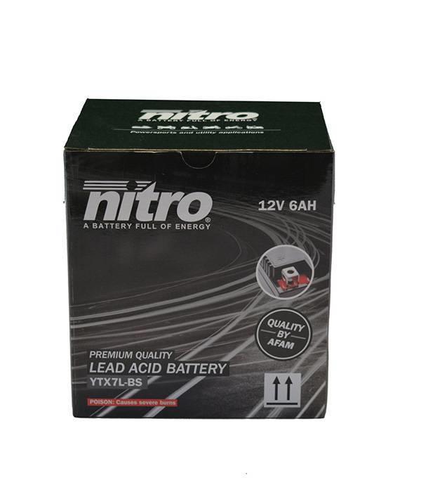 Nitro Yamaha XT 125R Motor accu van nitro