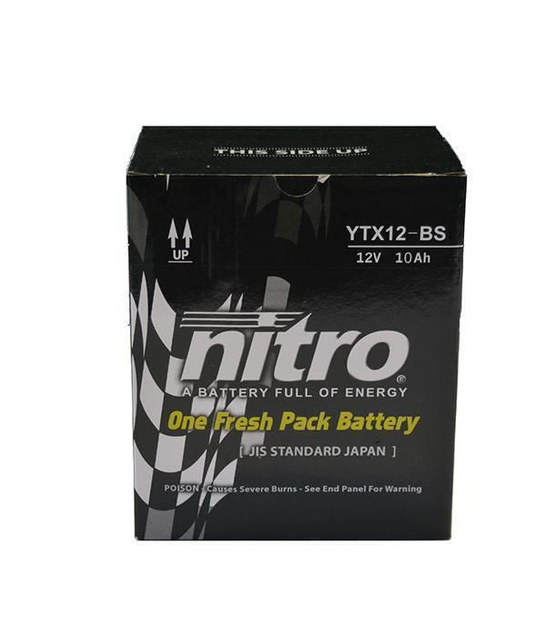 Nitro Kawasaki W 650 EJ650 Motor accu van nitro