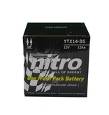 Nitro Bmw F 800GS Triple Black Motor accu van nitro