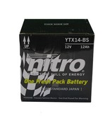 Nitro Bmw R 1200GS Triple Black Motor accu van nitro