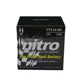 Nitro Yamaha YFM 400FG Grizzly Quad accu van nitro