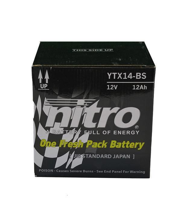Nitro Honda TRX 420FM Fourtrax Auto Quad accu van nitro
