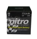 Nitro Honda TRX 420FA Fourtrax Auto Quad accu van nitro