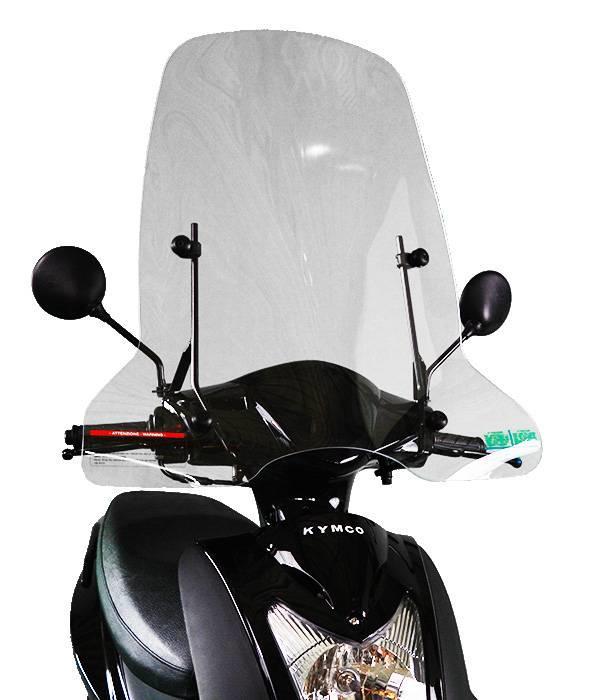 Scootercentrum Kymco Agility Hoog Windscherm inclusief bevestigingsset van scootercentrum