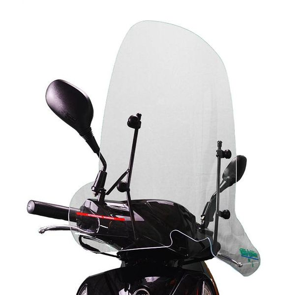 Sym Orbit Hoog Windscherm inclusief bevestigingsset van scootercentrum