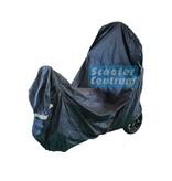 Tucano Urbano Vespa Primavera beschermhoes zwart met windscherm ruimte van Tucano
