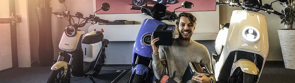 Elektrische scooter vergelijking 2018 - NIU U1 | M1-PRO | N1S