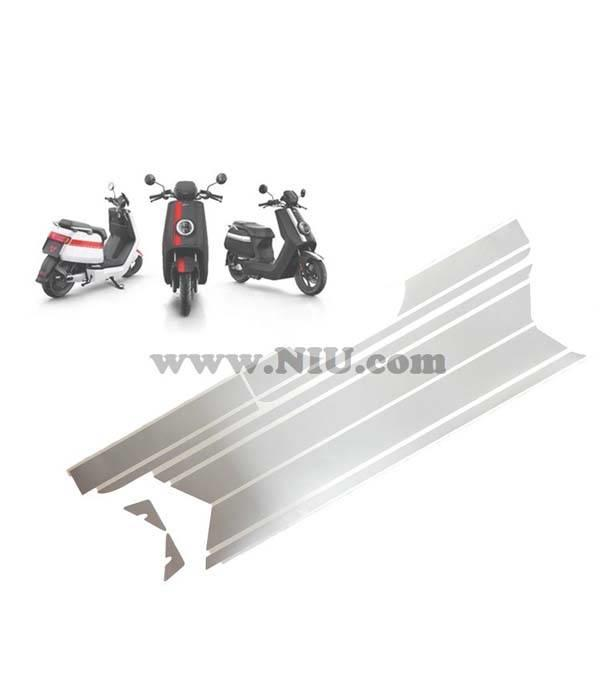 Niu NIU N1S Stickerset striping - Kleur naar keuze
