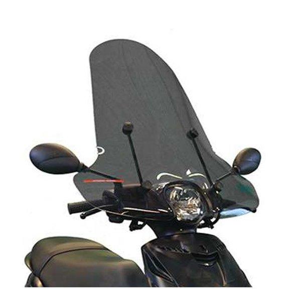 Piaggio Zip Smoke Hoog Windscherm inclusief bevestigingsset van scootercentrum