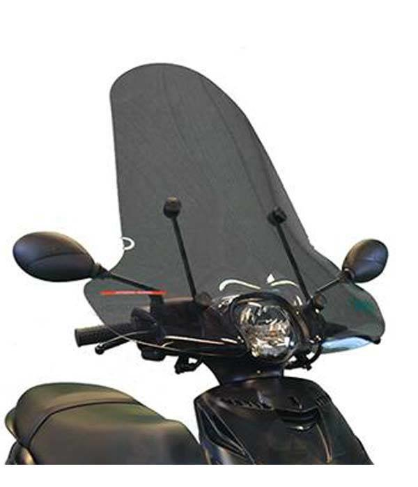 Scootercentrum Piaggio Zip Smoke Hoog Windscherm inclusief bevestigingsset van scootercentrum