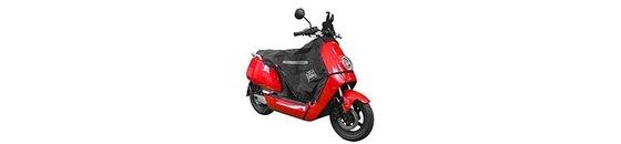 Beenkleden per merk en type scooter