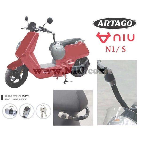 NIU N1S Antirrobos Style