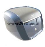 Niu NIU N1S Koffer Blauw + Achterdrager
