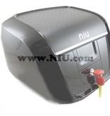Niu NIU N1S Koffer Zwart + Achterdrager