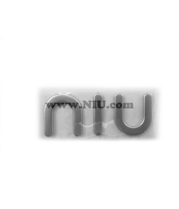 Niu NIU N1S Logo Niu Beenschild Embleem