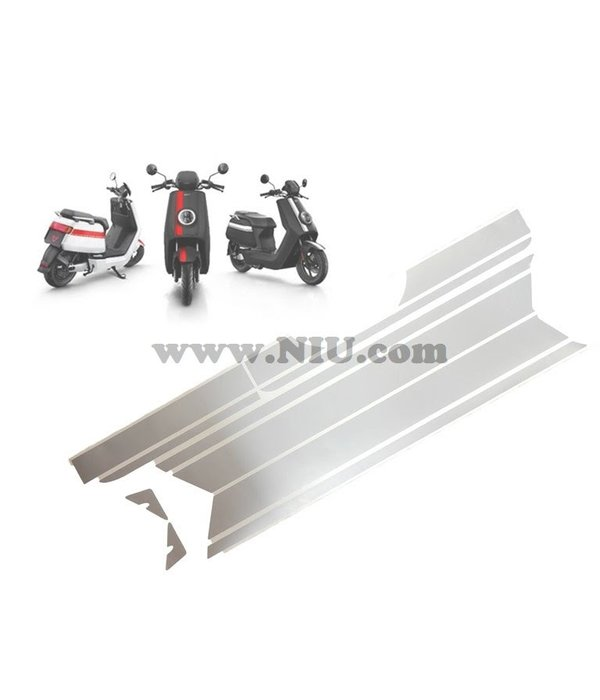 Niu NIU N1S Stickerset Striping Mat Grijs