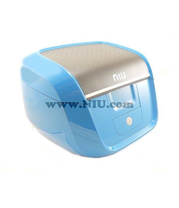 Niu NIU M1 Koffer Blauw + Achterdrager