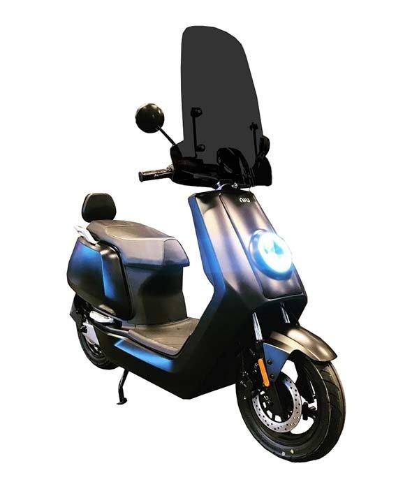 Niu Niu NQi Sport Elektrische Scooter Matzwart Editie