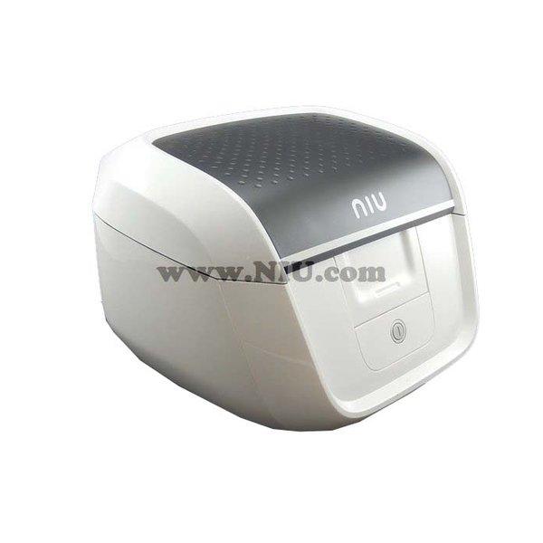 NIU M1 Koffer Wit + Achterdrager