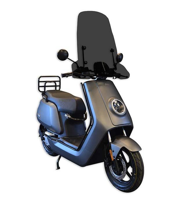 niu n1s elektrische scooter matgrijs agosta 100 elektrisch scooter centrum webshop winkel. Black Bedroom Furniture Sets. Home Design Ideas