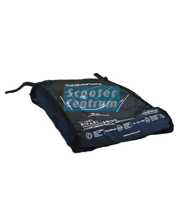 Tucano Urbano AGM Retro Black Edition 50 Beschermhoes zonder windscherm ruimte van tucano
