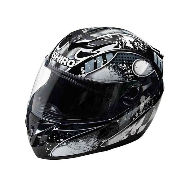Scooterhelm Integraal Shiro SH833 Platinum Grey Grijs XS