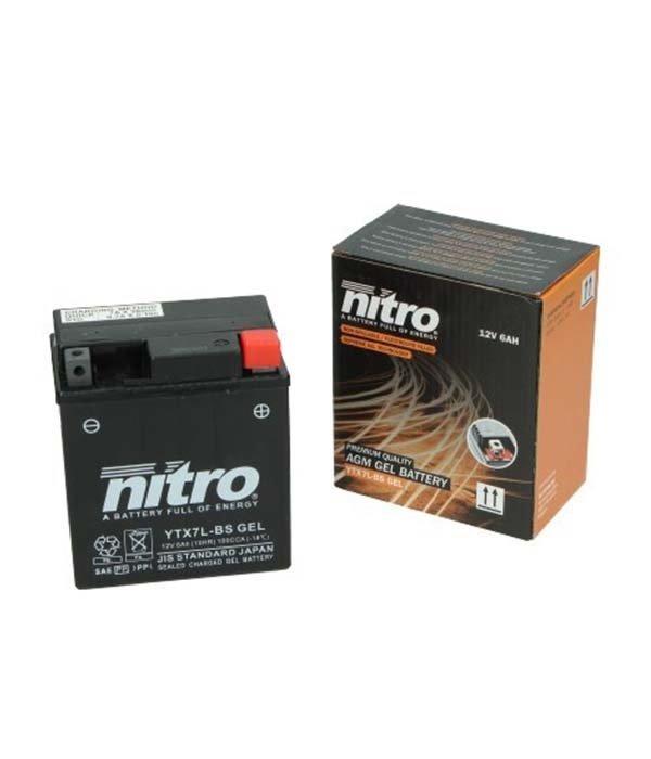 Nitro Piaggio New Fly 50 4T Accu Gel van nitro