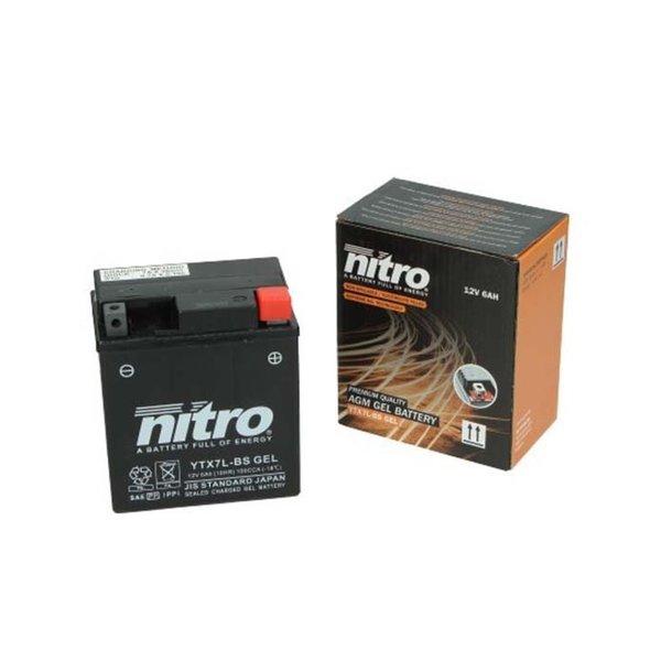 Piaggio Zip I-GET 50 4T Accu Gel van nitro