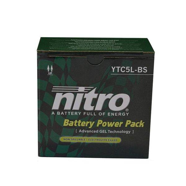 Kymco Vitality 50 4T Accu Gel van nitro
