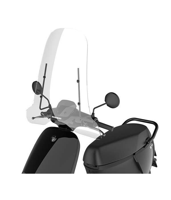 Segway Segway E110SE Hoog windscherm inclusief bevestigingsset met zwarte beugel