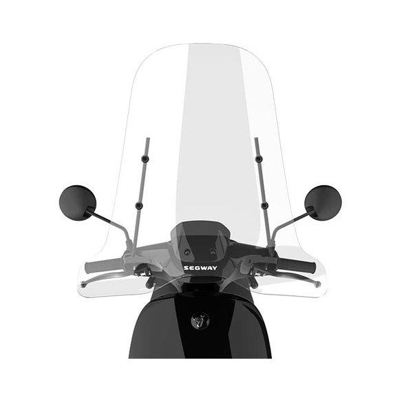 Segway E110SE Hoog windscherm inclusief bevestigingsset met zwarte beugel