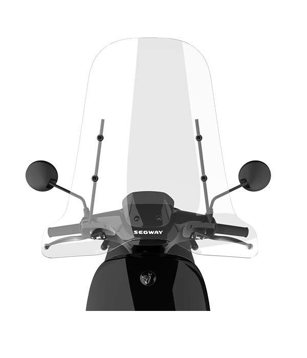 Segway Segway E110S Hoog windscherm inclusief bevestigingsset met zwarte beugel