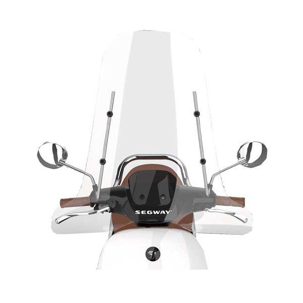 Segway E110SE Hoog windscherm inclusief bevestigingsset met chrome beugel