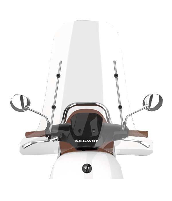 Segway Segway E110S Hoog windscherm inclusief bevestigingsset met chrome beugel