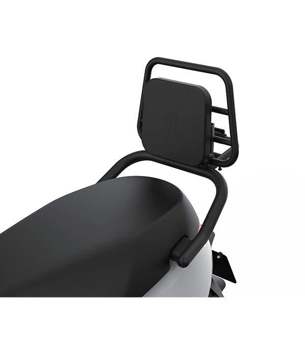 Segway Segway E110S Achterklapdrager zwart met zwart kussen