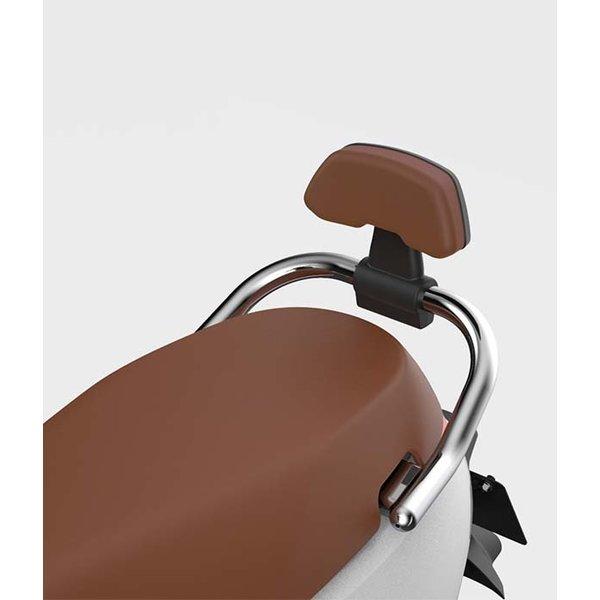 Segway E125S rugsteun zwart met bruin kussen