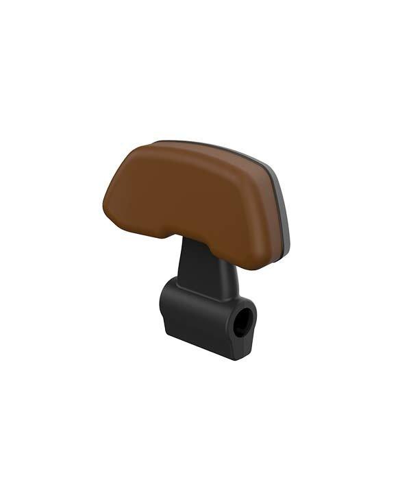Segway Segway E125S rugsteun zwart met bruin kussen