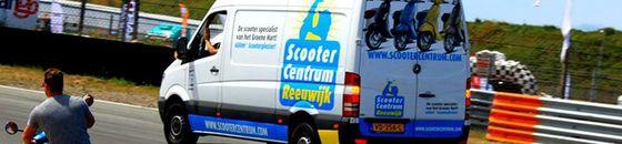 Scooter ophaalservice en bezorgservice