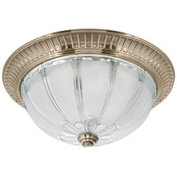 Metal ceiling light altmessing