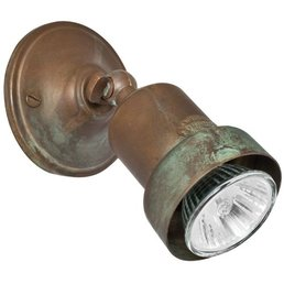 Wall mounted spotlight cast iron