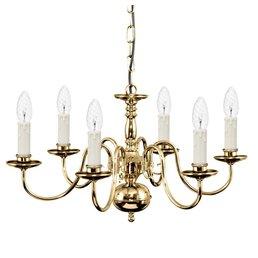Stilkrone light brass Pendelleuchte