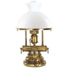 Table lamp Petrolstil Old brass brushed