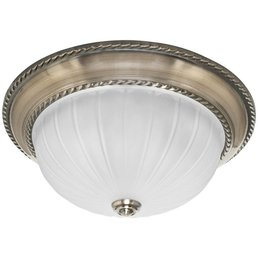 Ceiling light metal altmessing